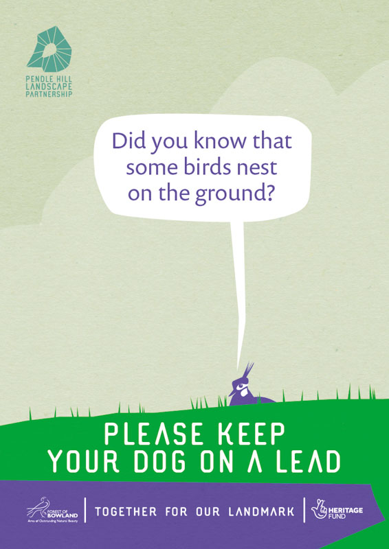 Ground Nesting Birds - Keep Dogs on Leads