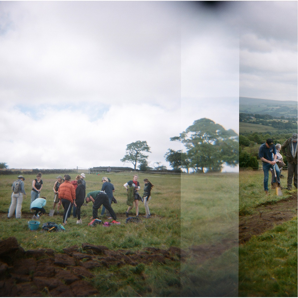 Malkin Tower Archaeological Excavation, Pendle July 2018, Courtesy Nastassja Simensky