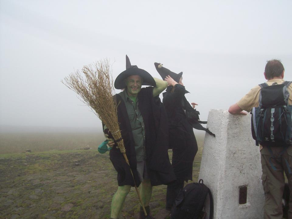 Pendle Summit 400th Centenary walk