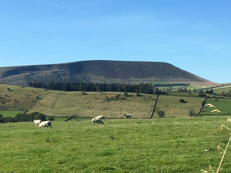 Pendle from Stang Top
