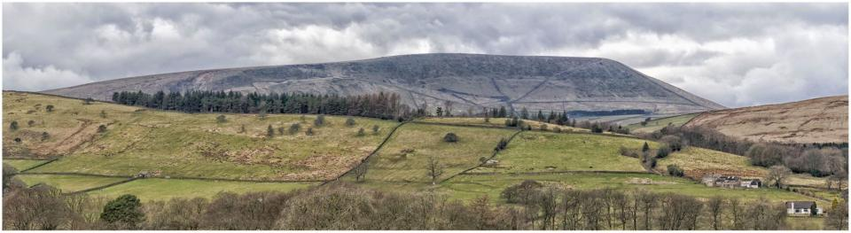 Panoramic Pendle