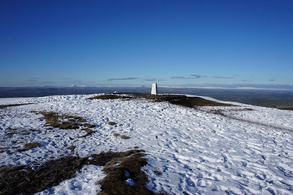 From the trig to Ingleborough and Penyghent