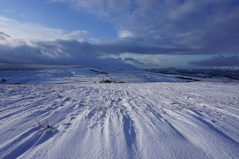 Pendle Hill from Weets Hill, 15th December 2019