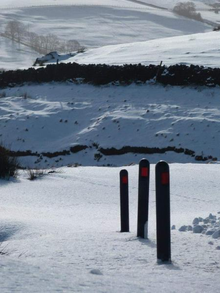 Snow on pendle