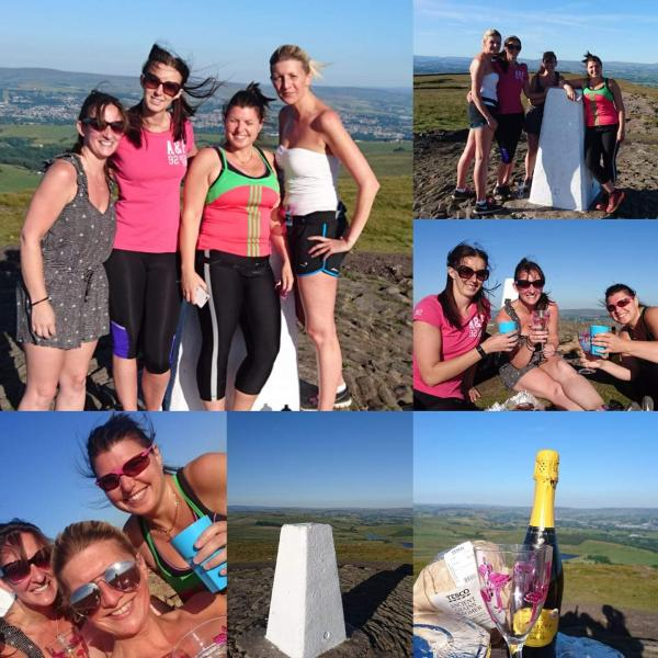 Roefield runners do the step in style
