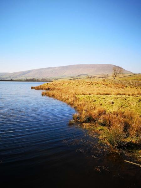 Pendle from Black Moss Reservoir