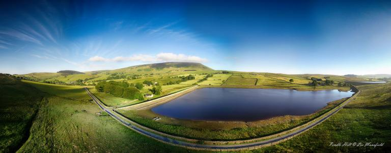 Pendle Hill - panoramic