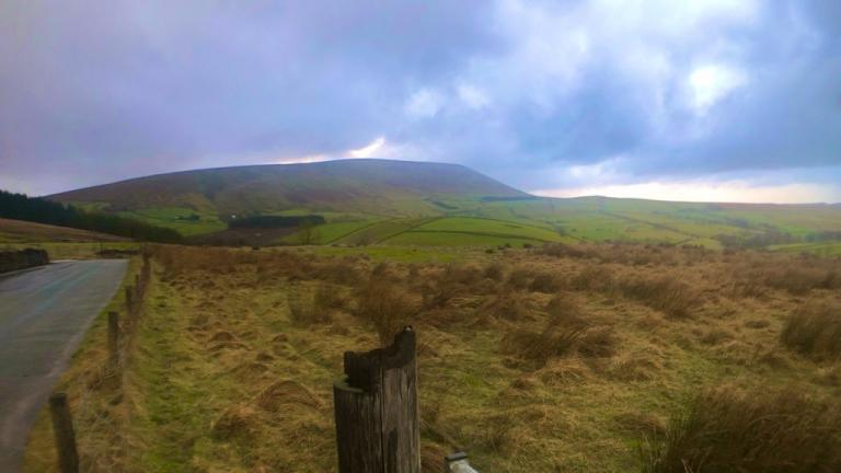 Pendle Hill from Newchurch in Pendle