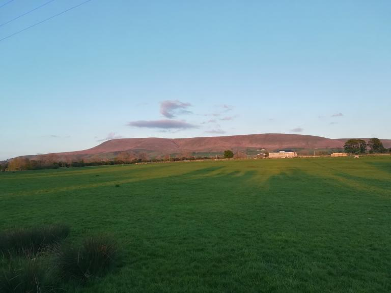 Pendle at Sunset, May 4th 2020
