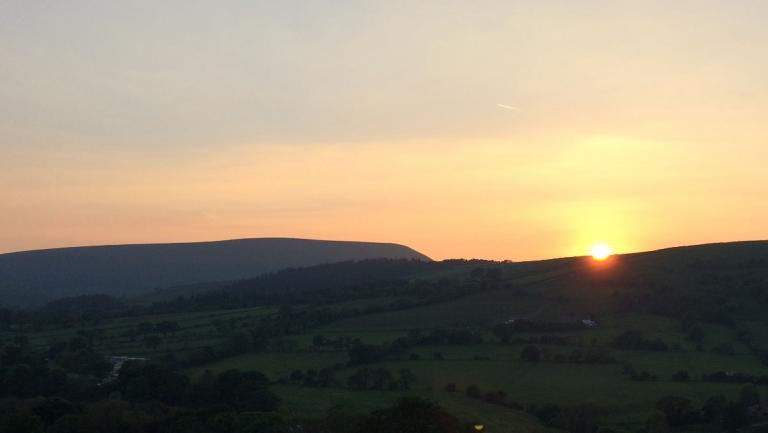 Sunset from Roughlee
