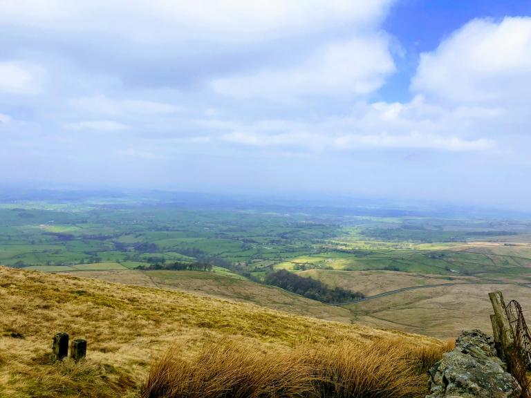 Pendle hill walk