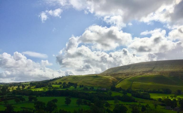Pendle Hill From Warsaw Hill 01