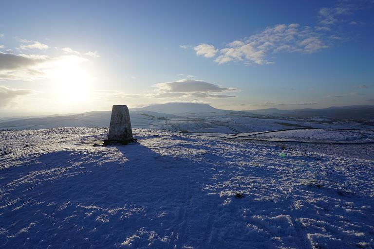 Pendle Hill from Weets Hill, 3rd January 2021