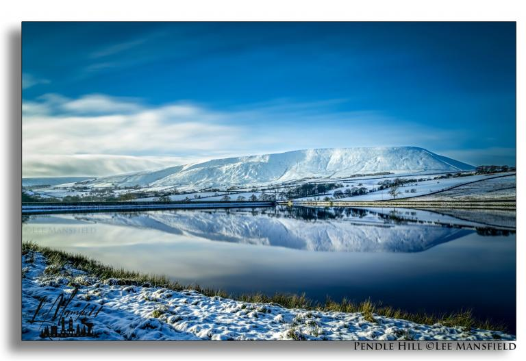 Pendle Hill, January 2021 - (C) Lee Mansfield