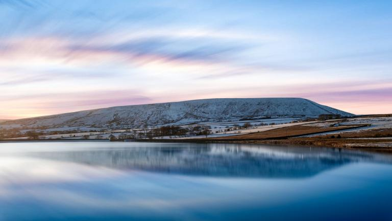 Pendle Hill, 2019, 211 second Long Exposure