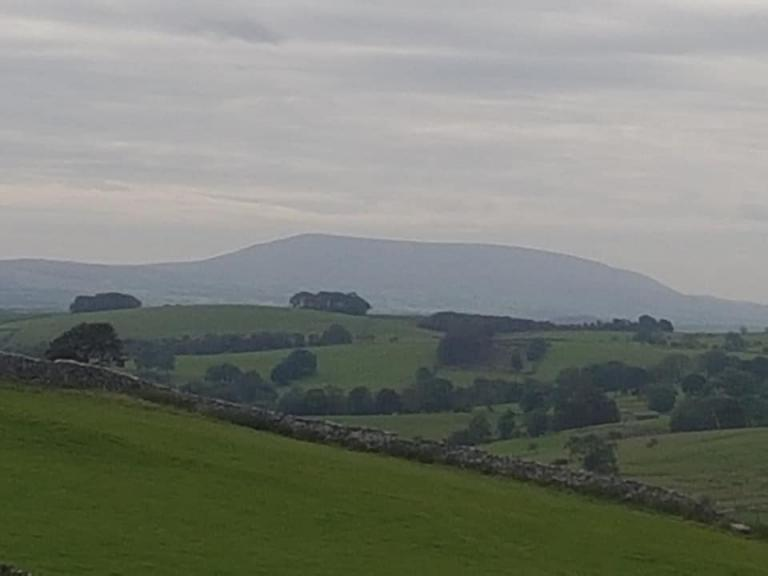 Pendle Hill en route from Janet's Fosse up to Malham Cove