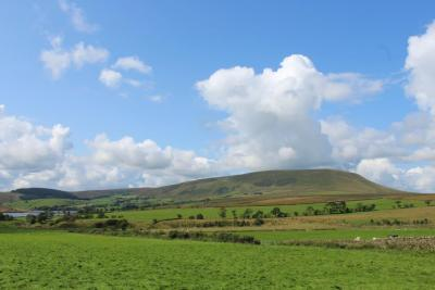 Nice view of Pendle