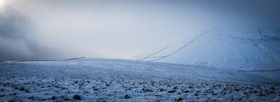 First snow on Pendle © dave spellman