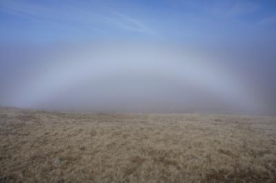 Fogbow on Pendleton Moor © Alan Kilduff