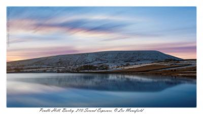 Pendle Hill, 210 secong long exposure - ©Lee Mansfield © lee mansfield