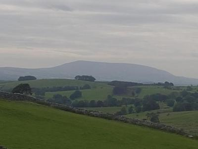 Pendle Hill en route from Janet's Fosse up to Malham Cove © Andrew Dore