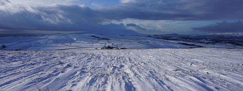 Pendle Hill from Weets Hill, 15th December 2019 © Alan Kilduff